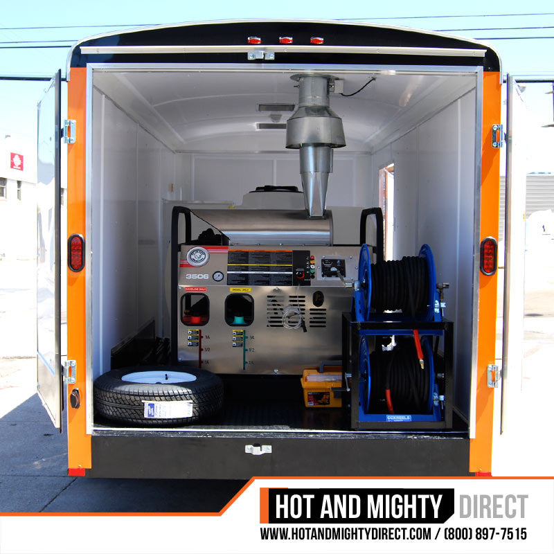 Mobile Wash Equipment 6 Gpm At 3 500 Psi Trailer Mounted