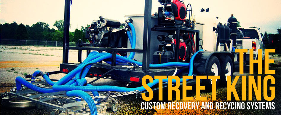 Pressure Washer Recovery And Recycling System