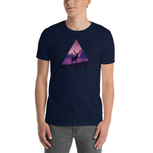 Deer in Nature Triangle T-Shirt