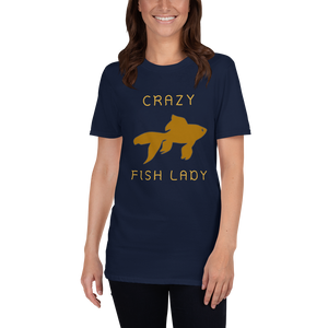 Crazy Fish Lady T-Shirt