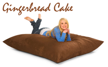 Bean Bag Pillow Gingerbread Brown