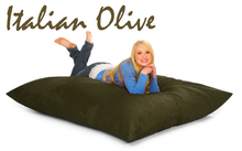 Bean Bag Pillow Italian Olive Green