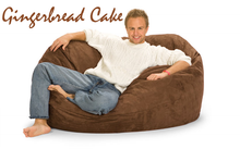 Giant Bean Bag Gingerbread Cake 5 Oval