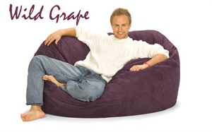 Giant Bean Bag Wild Grape 5 Oval