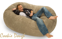 Giant Bean Bag 6 Oval Cookie Dough