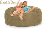 Cookie Dough 6 ft LoveSeat