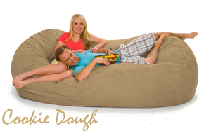 Giant Bean Bag 7 ½ Cookie Dough Oval
