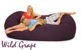 7 ½ Wild Grape Purple Oval