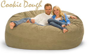 Cookie Dough 7 ft couch