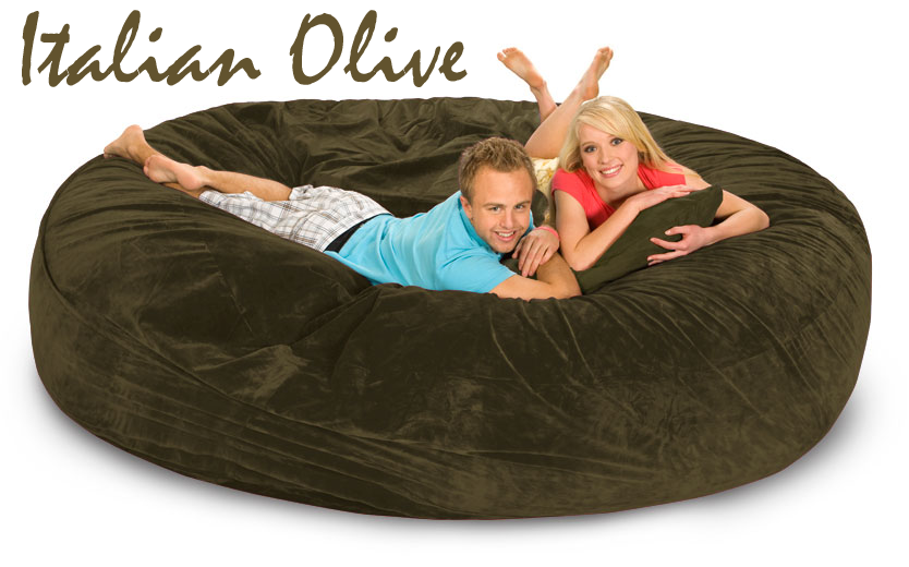 bean bag sofa bed 8 ft gigantic bean bags