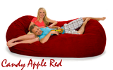 7 ½ Candy Apple Red Oval