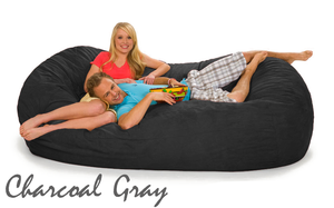 Charcoal Gray 7 ½ Oval