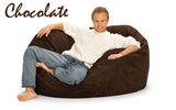 Giant Bean Bag Chocolate 5 Oval