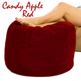 Giant Bean Bag Ottoman Red