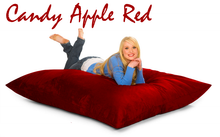 Bean Bag Pillow Red