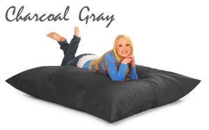 Bean Bag Pillow Gray