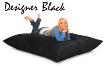 Bean Bag Pillow Black