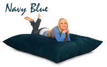 Bean Bag Pillow Navy