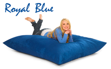 Bean Bag Pillow Blue