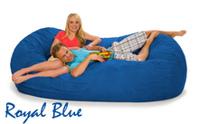 Giant 7 ½ Royal Blue Oval