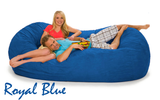 Bean Bag 7 ½ Royal Blue Oval