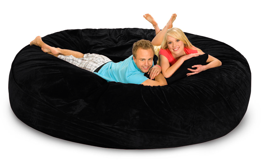 Strange 8 Ft Bean Bag Gmtry Best Dining Table And Chair Ideas Images Gmtryco