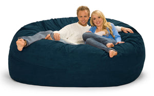 Navy Blue 7 ft Bean Bag Chair