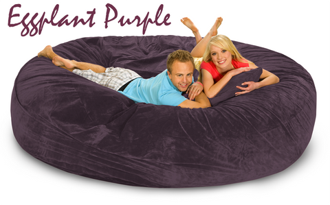 8 ft Purple Bed