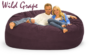 Purple Bean Bag  - 7 ft