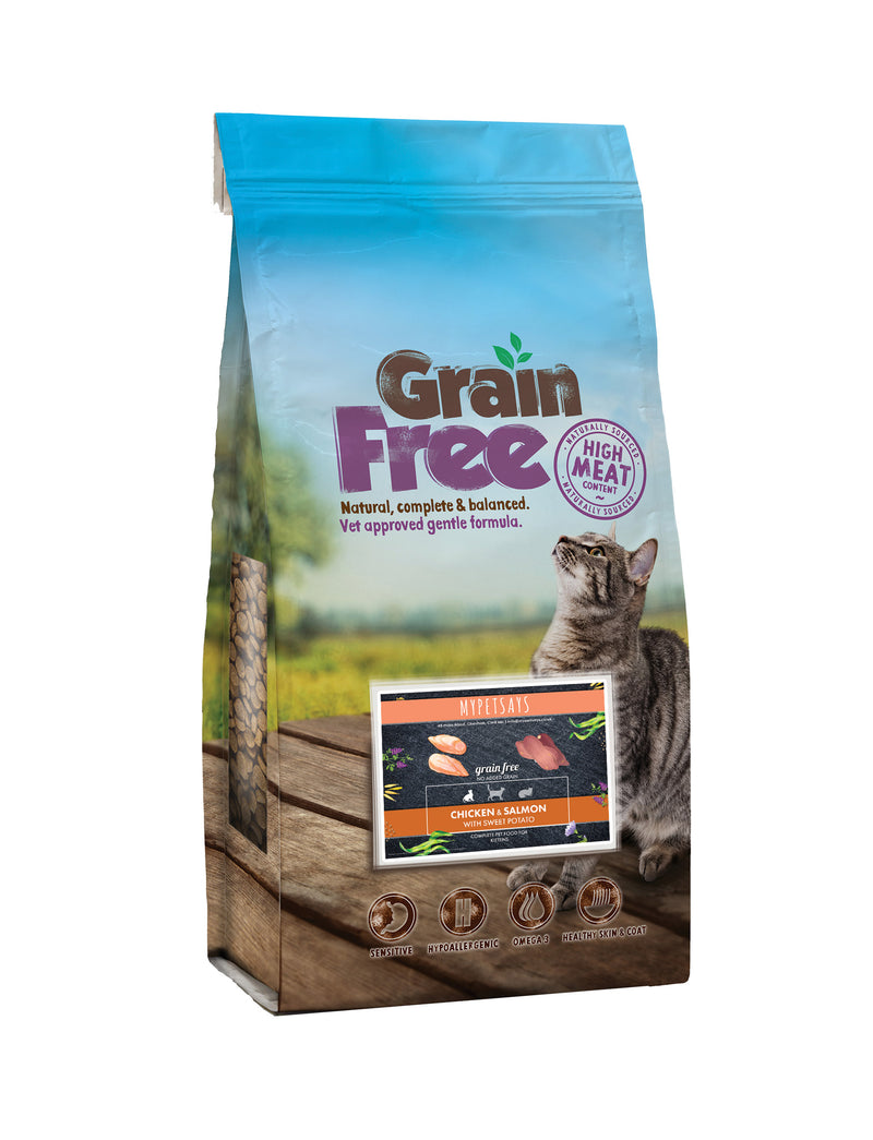 Grain Free Kitten Food - Freshly Prepared Chicken & Salmon