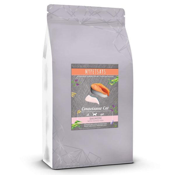 Connoisseur Sterilised Adult Cat Food - Salmon & White Fish