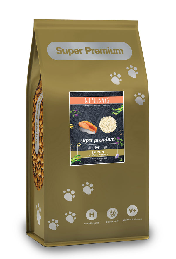 Super Premium Cat Food - Salmon