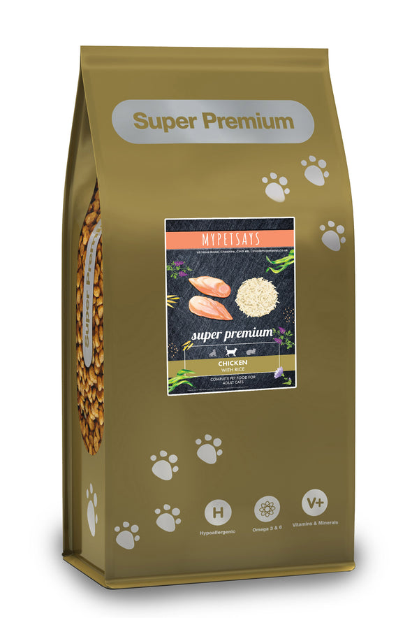 Super Premium Cat Food - Chicken