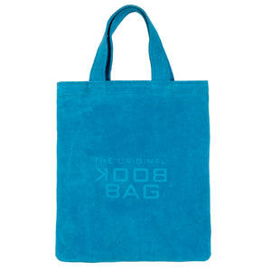 Suede Small Book Bag Turquoise