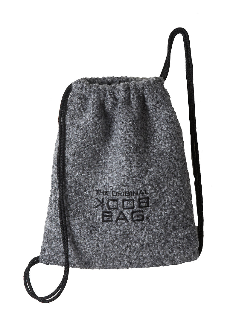 Back Pack Woolen Gray Boucle