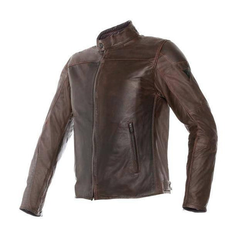 DAINESE MIKE PELLE MARRONE + Giacca Pelle - SPAZIO MOTO  outlet dainese