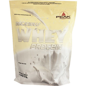 Peak Delicious Muscle Whey Protein - 1000g Beutel
