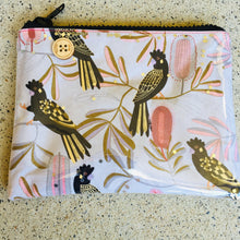 Load image into Gallery viewer, Black Cockatoo   - Clutches and coin purse