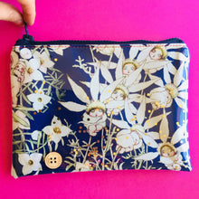 Load image into Gallery viewer, Flowers Midnight  - Clutches and coin purse