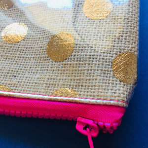 Gold Spot - Clutches and coin purse