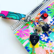 Load image into Gallery viewer, Wristlet Key Fob - Ditsy Floral