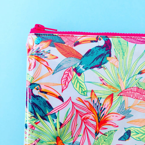 Tropical Toucan - Planner Pouch