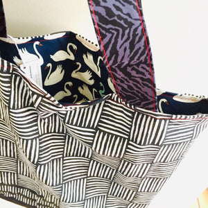 Copy of Swanning Around III  - Maxi Reversible Tote