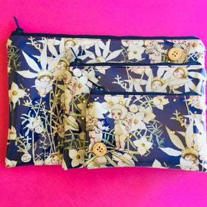 Flowers Midnight  - Clutches and coin purse