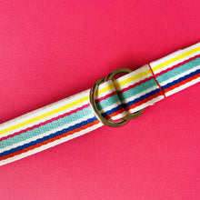 Load image into Gallery viewer, Belt - Rainbow Candy Stripe