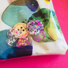Load image into Gallery viewer, Glitter Pebbles  - Clutches and coin purse