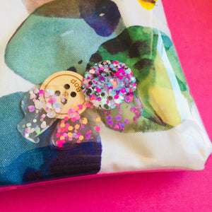 Glitter Pebbles  - Clutches and coin purse