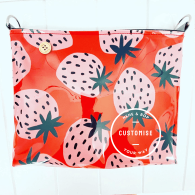 Customisable Pouch Plus+ - Strawberry Fields