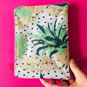 Pineapple Polka - Clutches and Coin Purse