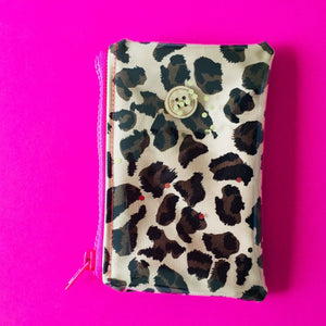 Mini Leopard - Clutches and Coin Purse